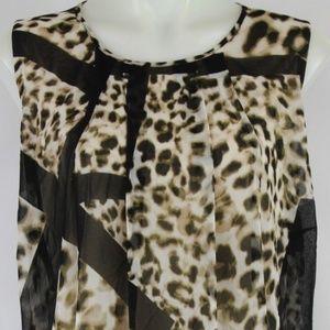 NWT Calvin Klein  Brown Sleeveless Dress Size 16W